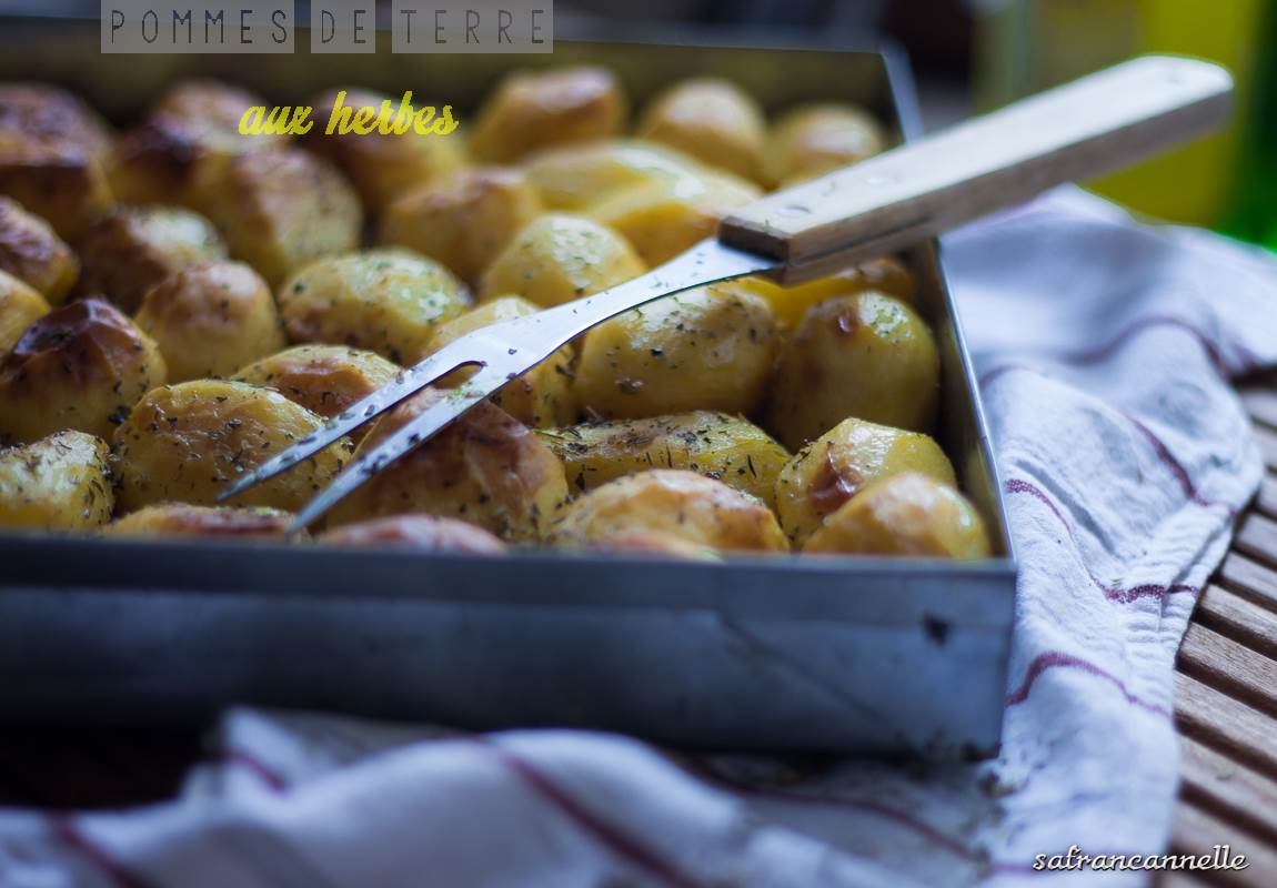 pommes de terre aux herbes...
