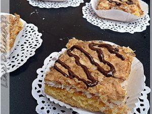 Gâteau à La Meringue à la Noix de Coco