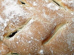 Le pain Fougasse
