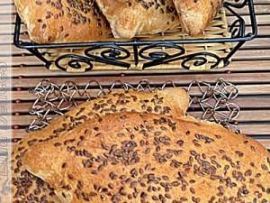 Petits pains moelleux aux graines de lin