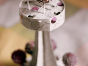 Pop cakes où Cake Pops  au chocolat