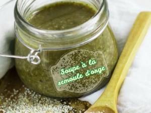 Soupe à la semoule d'orge et au Thym ( Tchicha be Zaatar )