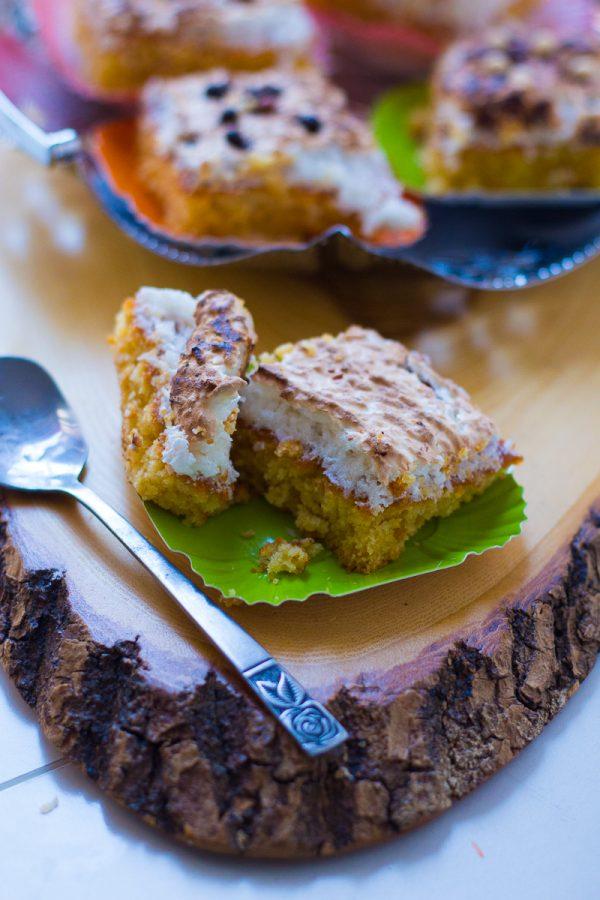 Gâteau à La Meringue & Noix de Coco