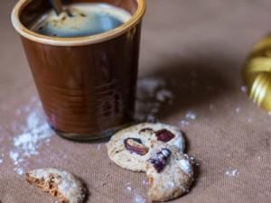 Cookies aux noix et au café