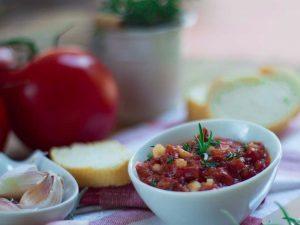 Tartinade  de tomates confites