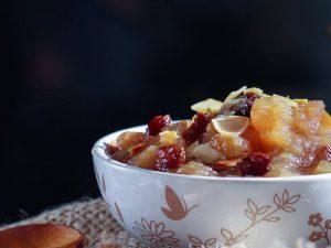 Chutney aux pommes et à la cannelle