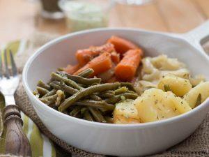 Poêlée de légumes à l'huile d'olive au multicuiseur