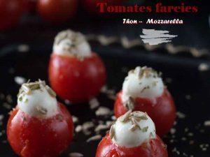 Tomates farcies Thon-Mozzarella