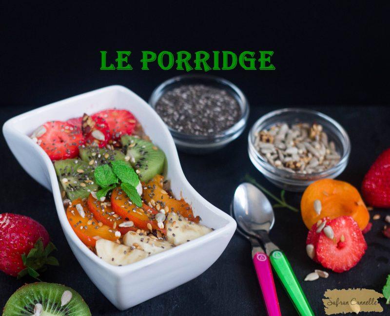 Recette du porridge
