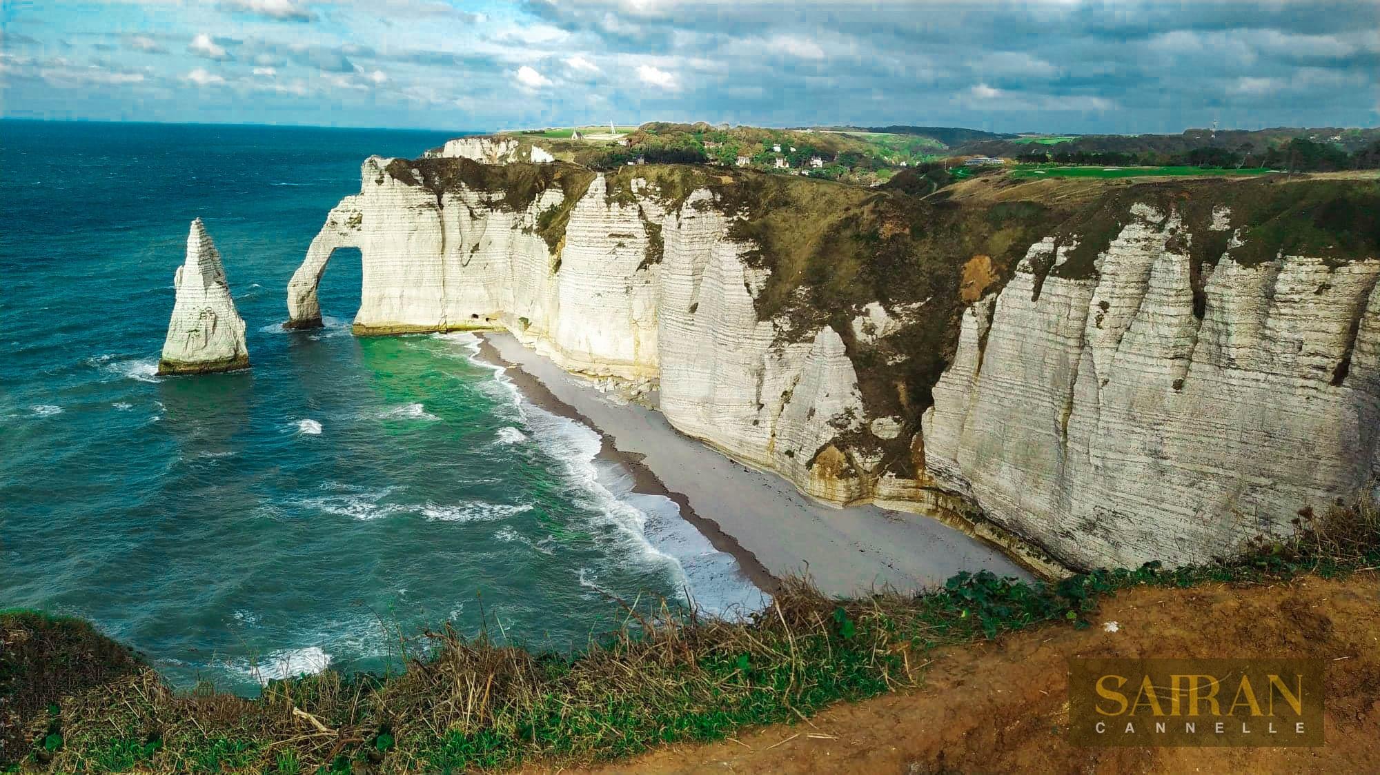 Vacances a étretat Normandie